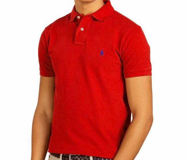 Camiseta Polo Ralph Lauren Vermelha