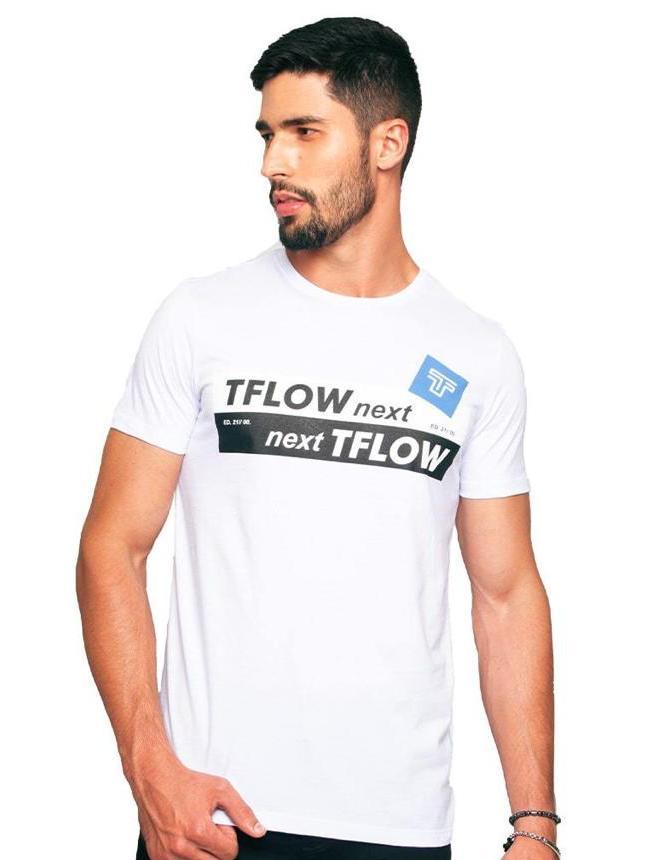 Camiseta Tflow Branca