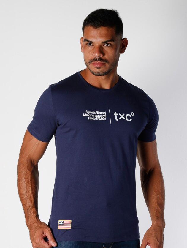 Camiseta TXC Azul Marinho
