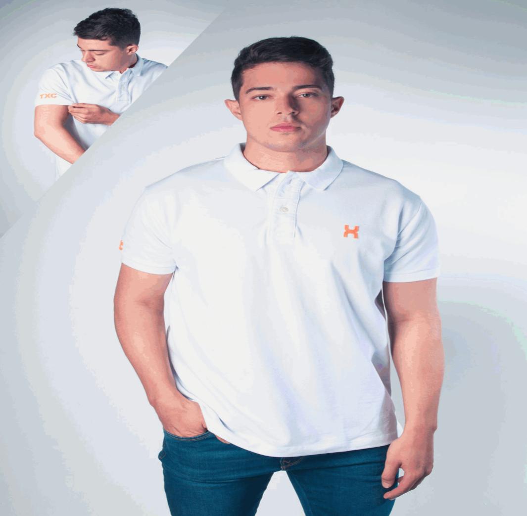 Camiseta TXC gola polo masculina 1004620313