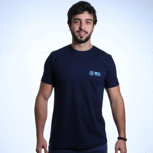 Camiseta Txc Masculina Azul Marinho