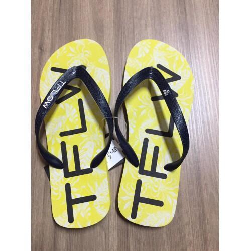 Chinelo Tflow Masculino Amarelo