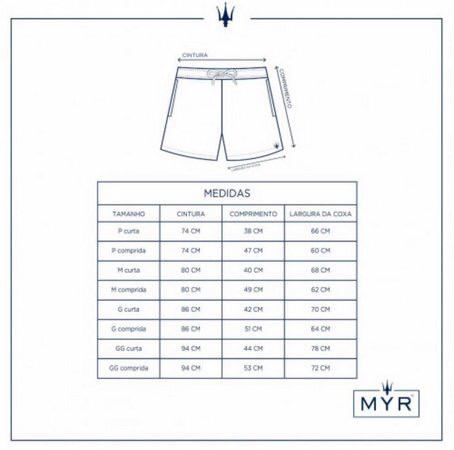 Short masculino MYR 33893601