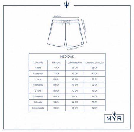 Short MYR masculino 33893602