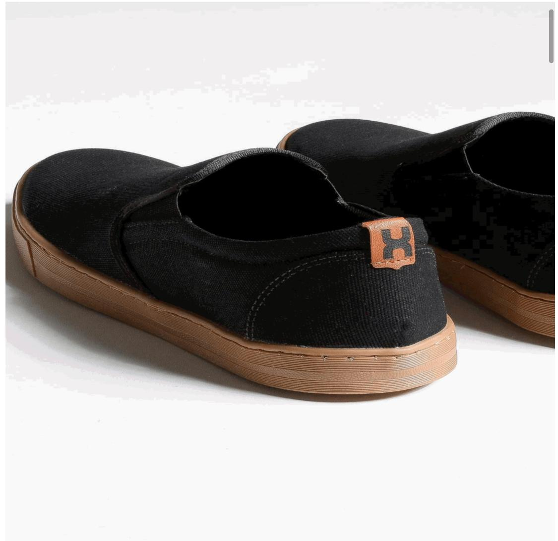 Tênis X-Shoes Late Masculino Txc Lona e Borracha Liso - Preto