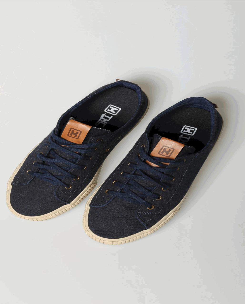 Tênis X-Shoes London Masculino Txc Lona e Borracha - Azul Marinho