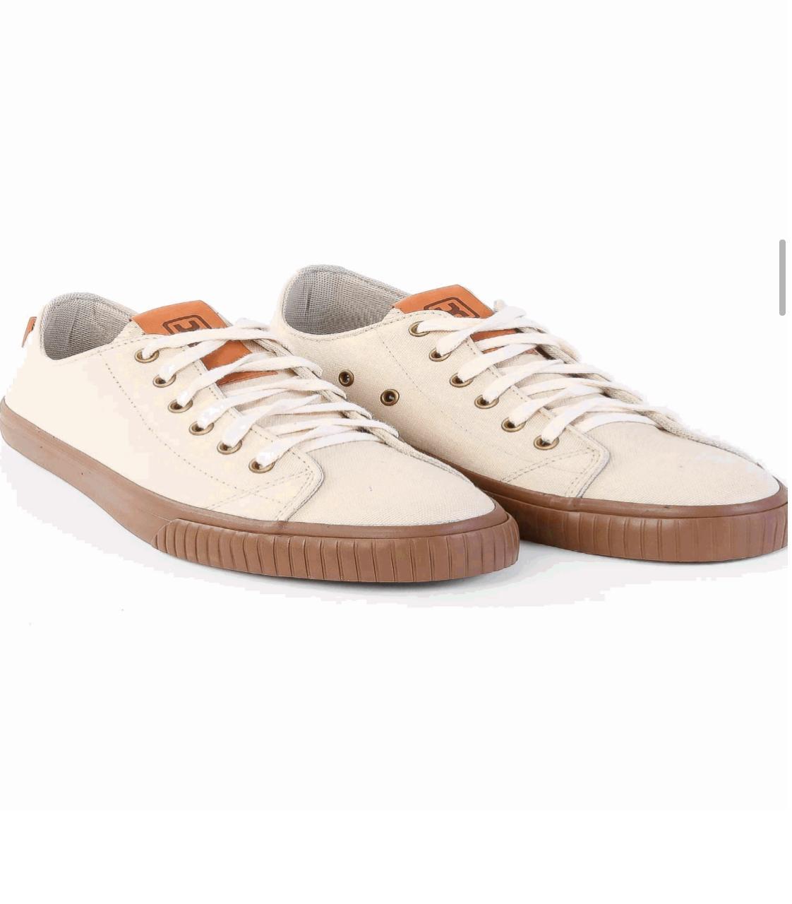 Tênis X-Shoes London Masculino Txc Lona e Borracha Liso - Palha