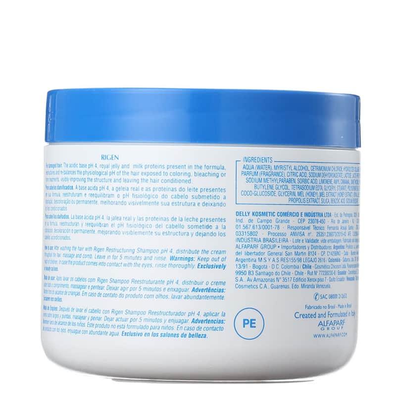 Alfaparf Rigen Milk Protein Plus - Máscara Capilar 500g