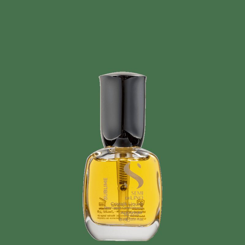 Alfaparf Semi Di Lino Sublime Cristalli Liquidi- Óleo Capilar 15ml
