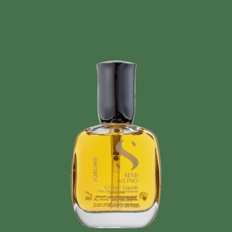 Alfaparf Semi Di Lino Sublime Cristalli Liquidi- Óleo Capilar 30ml