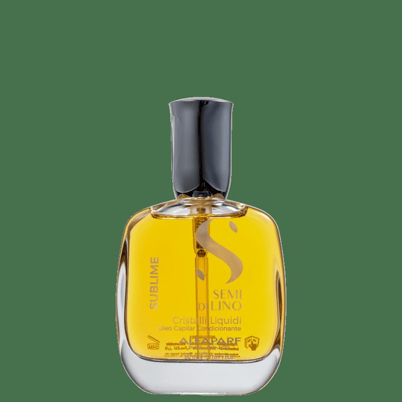 Alfaparf Semi Di Lino Sublime Cristalli Liquidi- Óleo Capilar 50ml