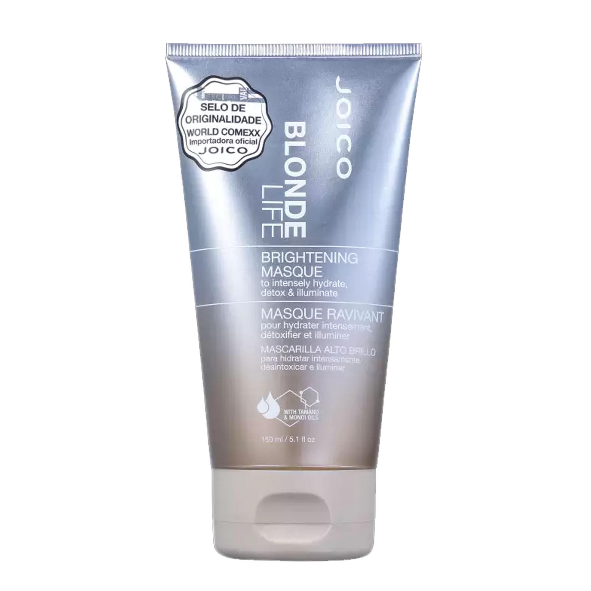 Joico Blonde Life Máscara para Iluminação e Hidratação 150ml