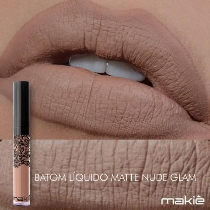 Makiê Batom Liquido - Nude Glam
