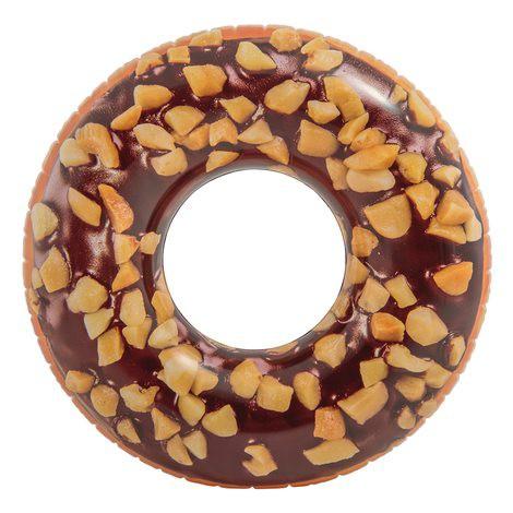 BOIA GIGANTE DONUT CHOCOLATE 114 CM - INTEX