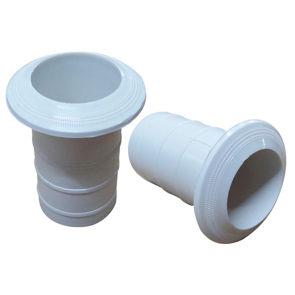 CHUMBADOR EM PLAST.P/ ESCADA EM ABS 1 1/2 - SODRAMAR