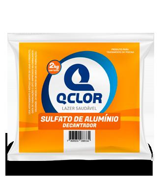 SULFATO DE ALUMÍNIO DECANTADOR 2 KG - QCLOR -