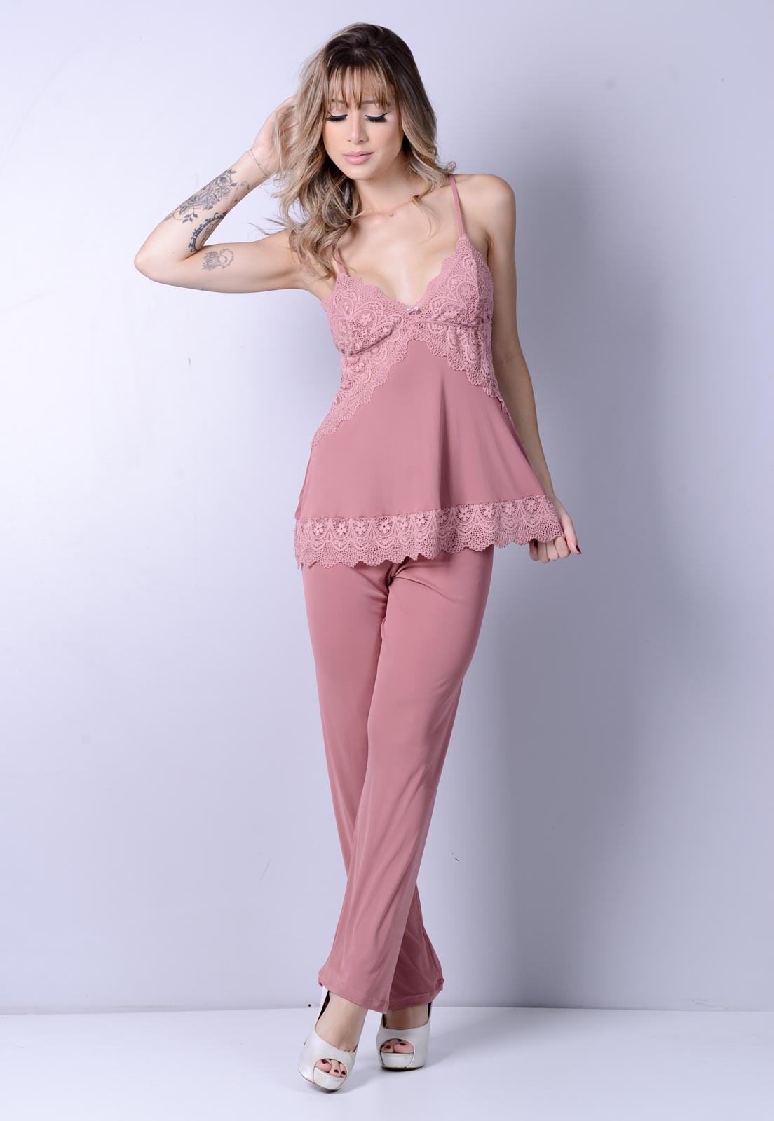 Pijama Longo Romance