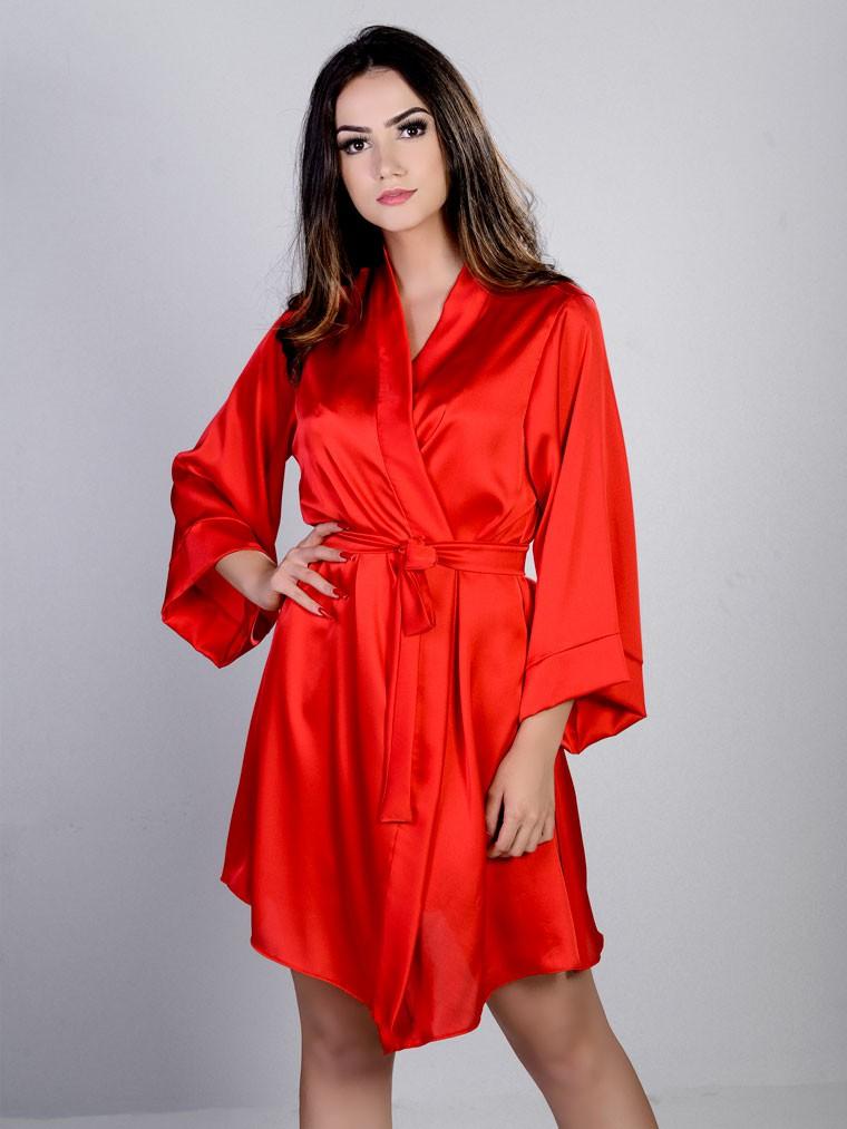 Robe Curto Silk Satin