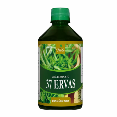 Chá Composto 37 Ervas Naturais - 500ml - Natuser