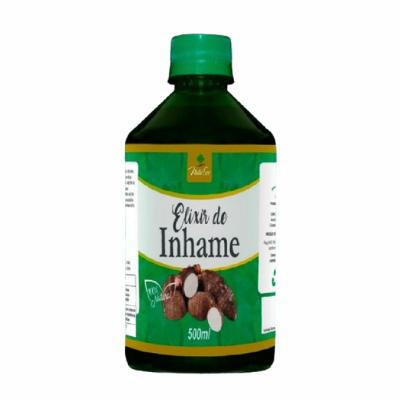 Chá Composto Inhame Elixir Liquido Natural Natuser 500 Ml