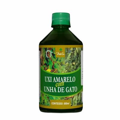 Chá Composto Uxi Amarelo Com Unha de Gato 500ml Natuser