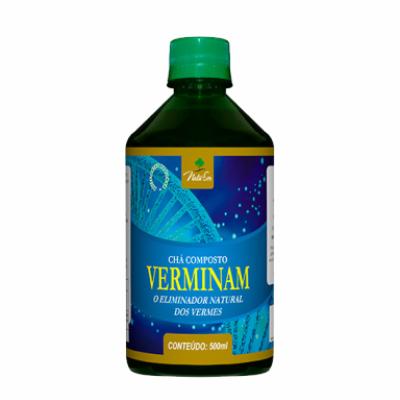 Chá Composto Verminan - 500ml - Natuser