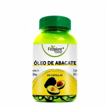 Óleo de Abacate - Fitoplant - 60 Cápsulas 1450mg