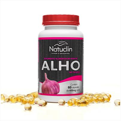 Óleo de Alho - 60 cápsulas - 400mg