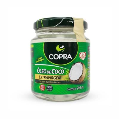 Óleo de Coco Extra Virgem  Promove Menor Acúmulo de Gorduras no Corpo (200mL)