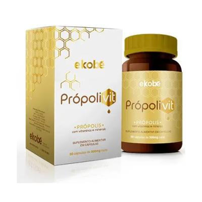Própolivit  60 Cápsulas Própolis Com Vitaminas e Minerais