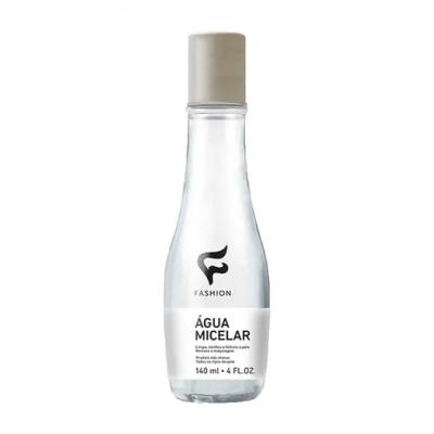Removedor De Maquiagem Água Micelar (Não possui álcool)  140ml Fashion Cosméticos
