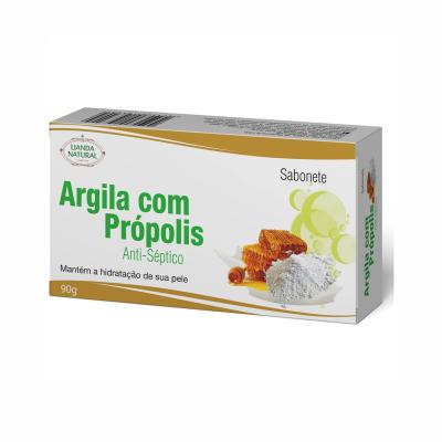Sabonete de Argila Com Própolis, 90g – Lianda Natural