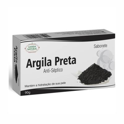 Sabonete de Argila Preta, 90g – Lianda Natural