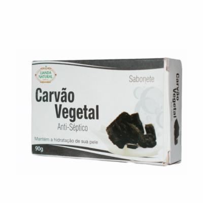 Sabonete de Carvão Vegetal, 90g – Lianda Natural