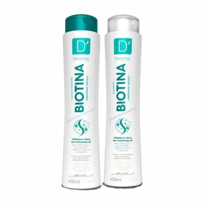 Shampoo + condicionador 400ml biotina Doura Hair