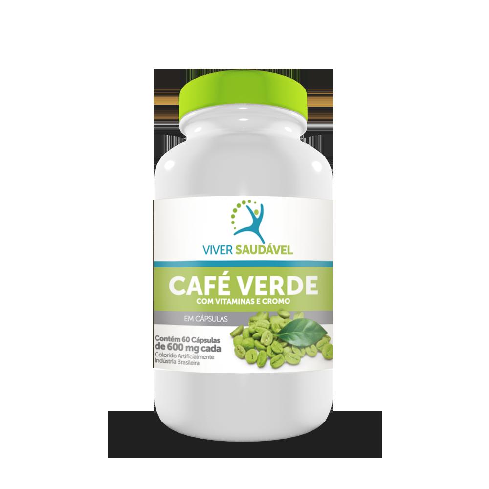 Café Verde Com Vitaminas e Cromo - Viver Saudável
