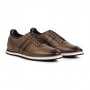 Sapato Gommix Loafer Durhan Laser Plus Avelã