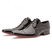 Sapato Social Bigioni 307 Verniz Preto