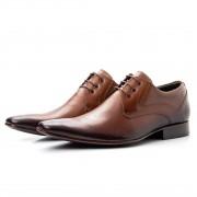 Sapato Social Bigioni Clássico 379 Couro Wisky