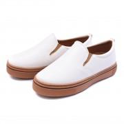 Slip on Feminino Gommix Shoes 070 Verniz Branco