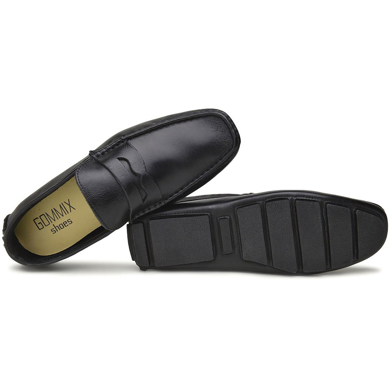 Mocassim Drive Masculino Gommix Shoes 1001- pto