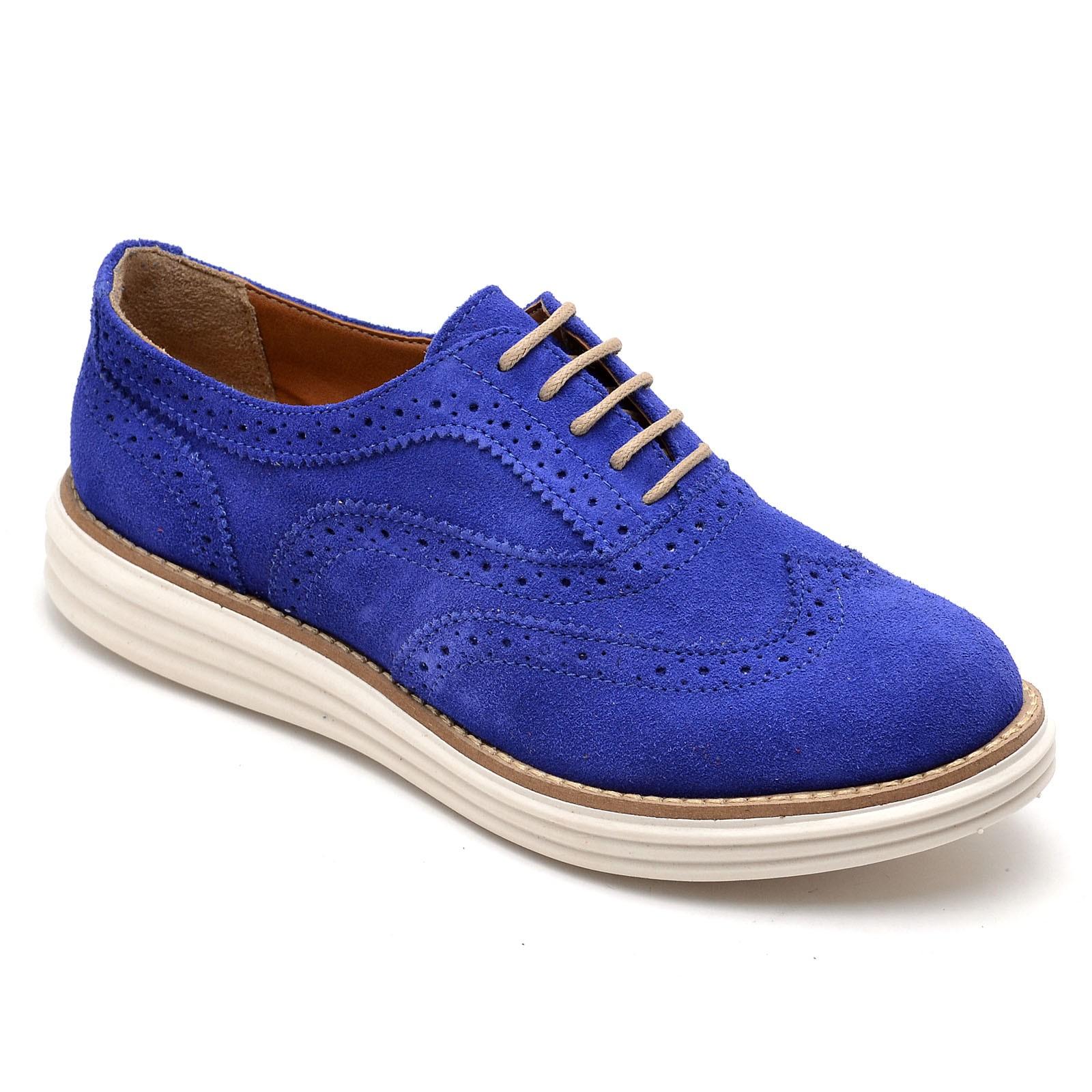 Oxford Feminino Gommix Camurça Azul