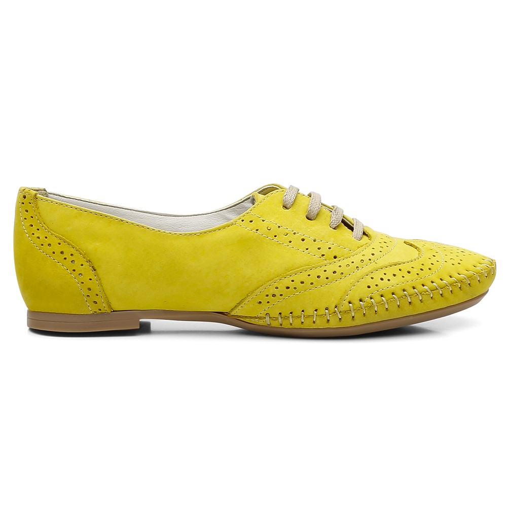Oxford Feminino Gommix Confort Amarelo