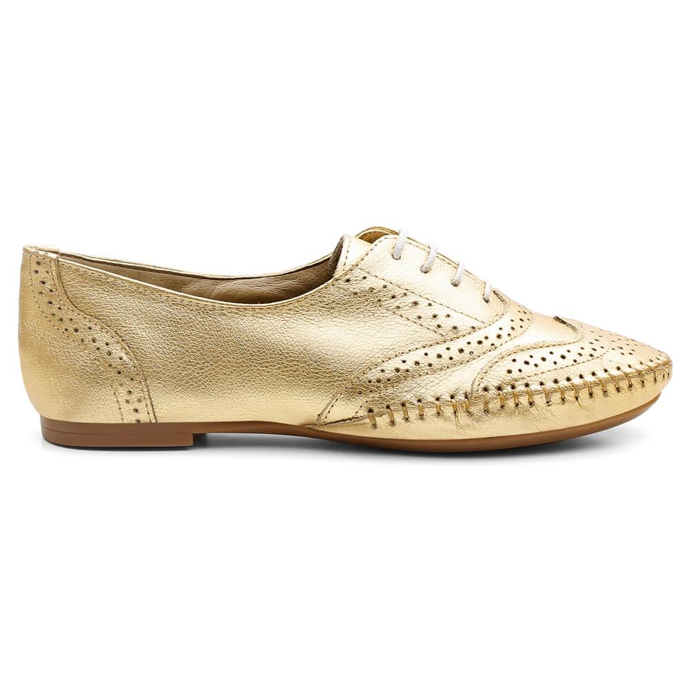 Oxford Feminino Gommix Confort Ouro