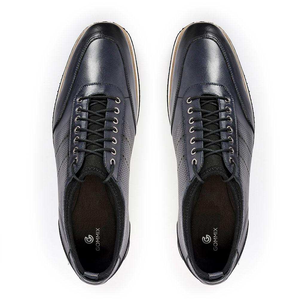 Sapato Gommix Loafer Durhan Laser Plus Marinho