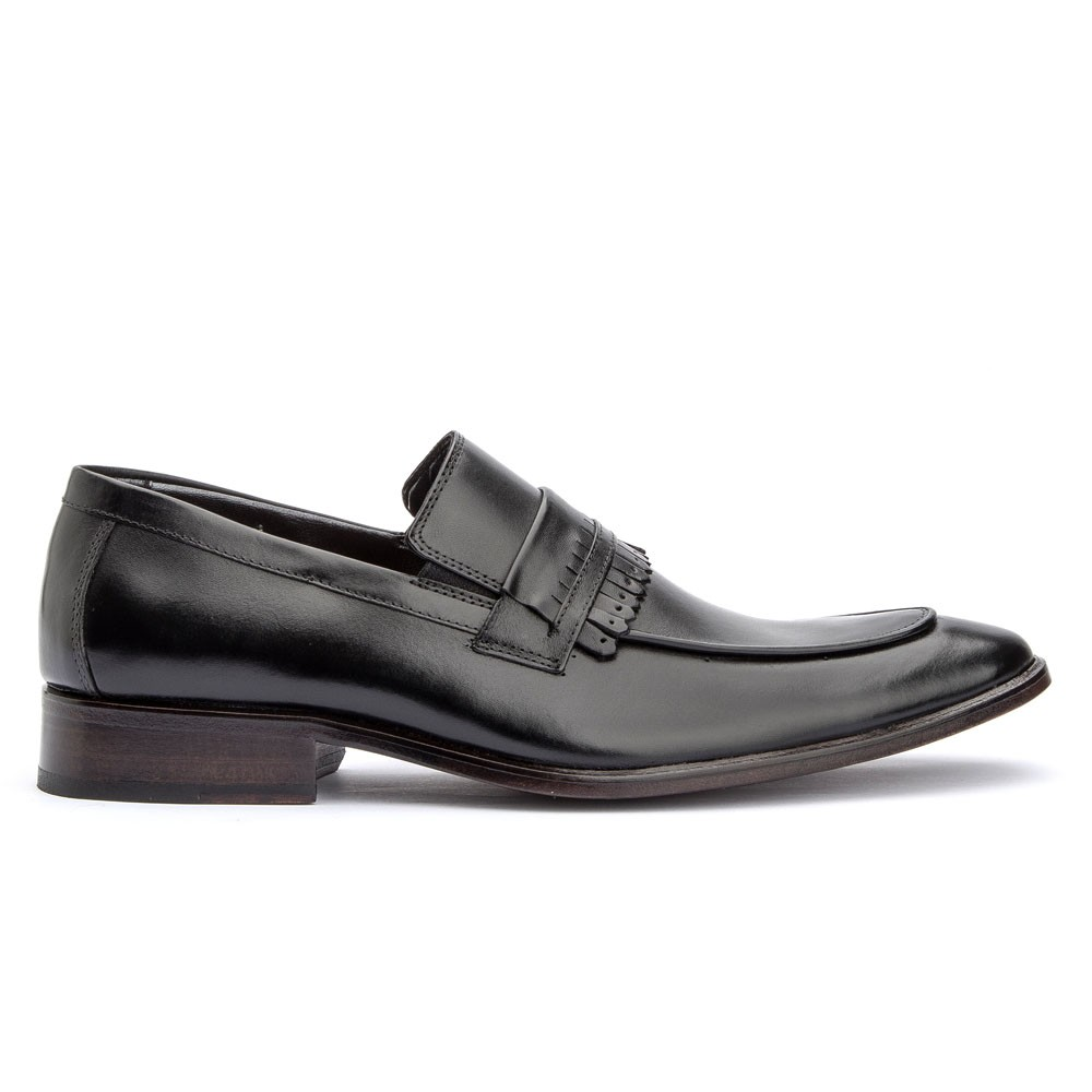 Sapato Loafer Com Gravata Premium Bigioni 2016 Preto