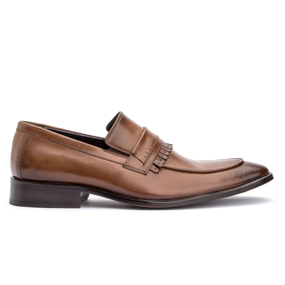 Sapato Loafer Com Gravata Premium Bigioni 2016 Whisky