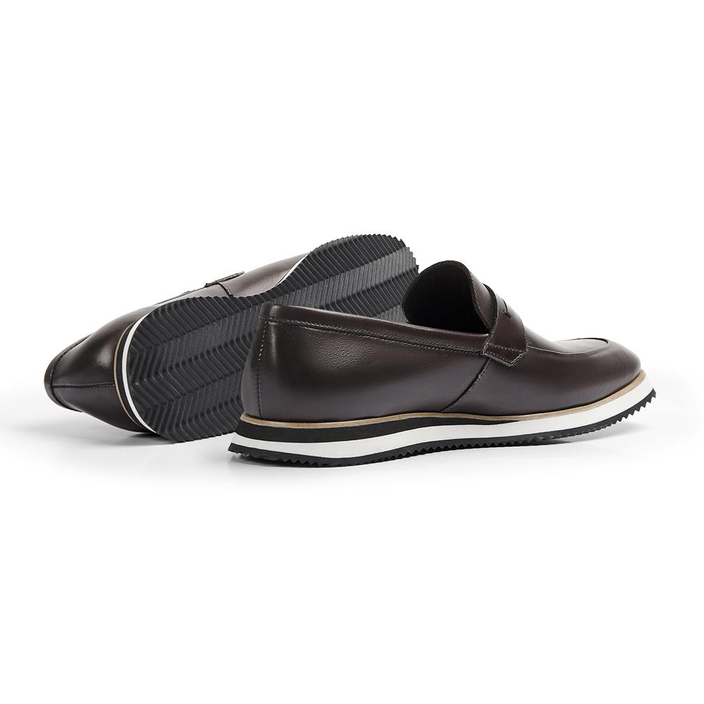 Sapato Loafer Durhan Gommix Café