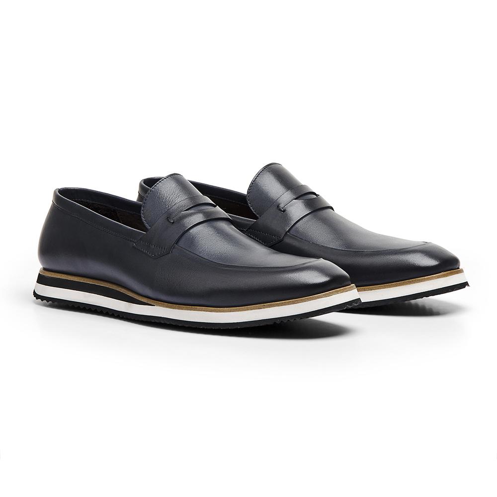 Sapato Loafer Durhan Gommix Marinho