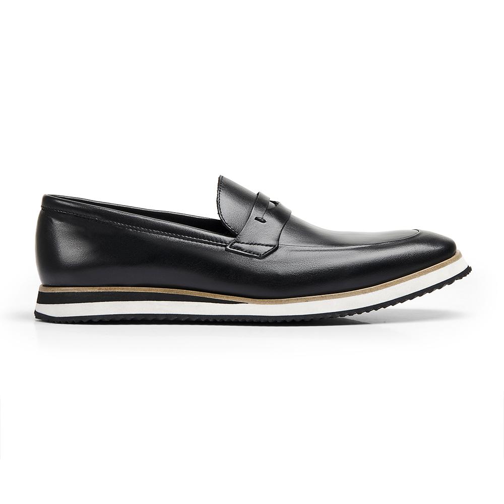 Sapato Loafer Durhan Gommix Preto
